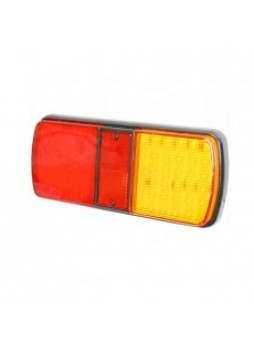 4 Function LED Rear Combination Lamp - Stop/Tail/Direction Indicator/Relfex Reflector - 12/24V