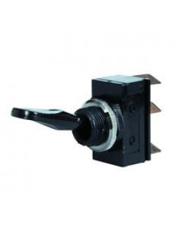 3 Way/Change Over Toggle Switch with Plastic Lever - 10A at 12V