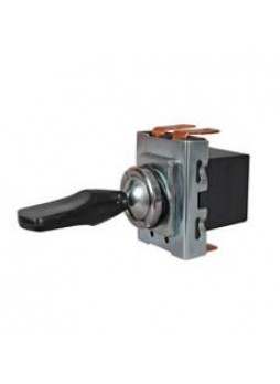 3 Way or Change Over Toggle Switch with Plastic Paddle Lever - 10A at 12V