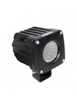 1 x 25W CREE LED Square Work Lamp - Black, 9-36V 1700lm, Ip68