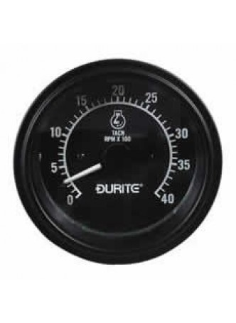 12/24V Alternator Pick-up Tachometer - 0-4000RPM