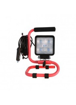 Floor Standing LED Work Lamp with Handle - 12/24V