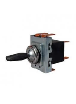3 Way On/On/On Toggle Switch with Plastic Paddle Lever - 10A at 12V