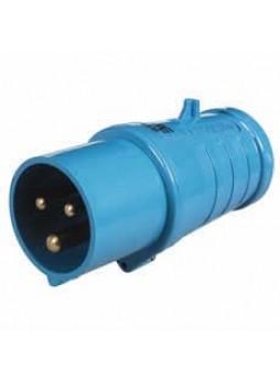 16A 230V Blue Trailing Plug