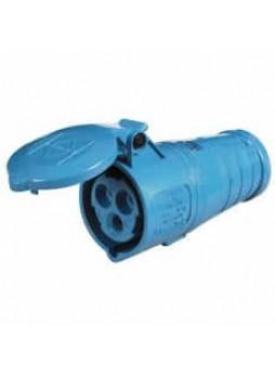 16A 230V Blue Trailing Socket
