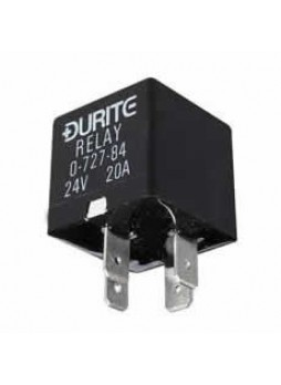 12V Mini Make/Break Relay - A Type Termination, Sealed with Resistor - 30A