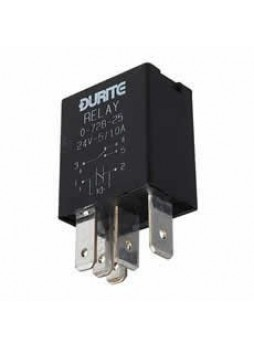 24V Micro Change Over Relay with Diode - 5/10A