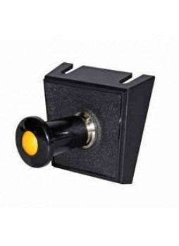 Amber Illuminated Push/Pull Single Switch Panel - 10A at 12V