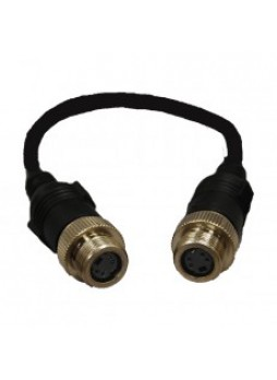 CCTV Adaptor 3 - Female 4 S-video to Female S-video - 0.15m