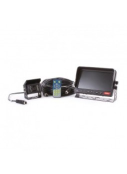 """CCTV Kit - 7"""" Colour Monitor and Infrared Camera with Sound - 12/24V"""