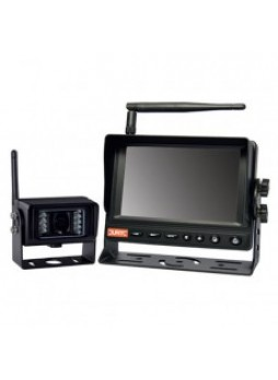 Wireless CCTV Kit - 5 Colour Infrared TFT Monitor with Sound - 12/24V
