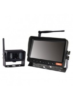 Wireless CCTV Kit - 7 Colour Infrared TFT Monitor with Sound - 12/24V