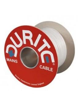 3 Core PVC Mains Cable - 0.75mm x 30m